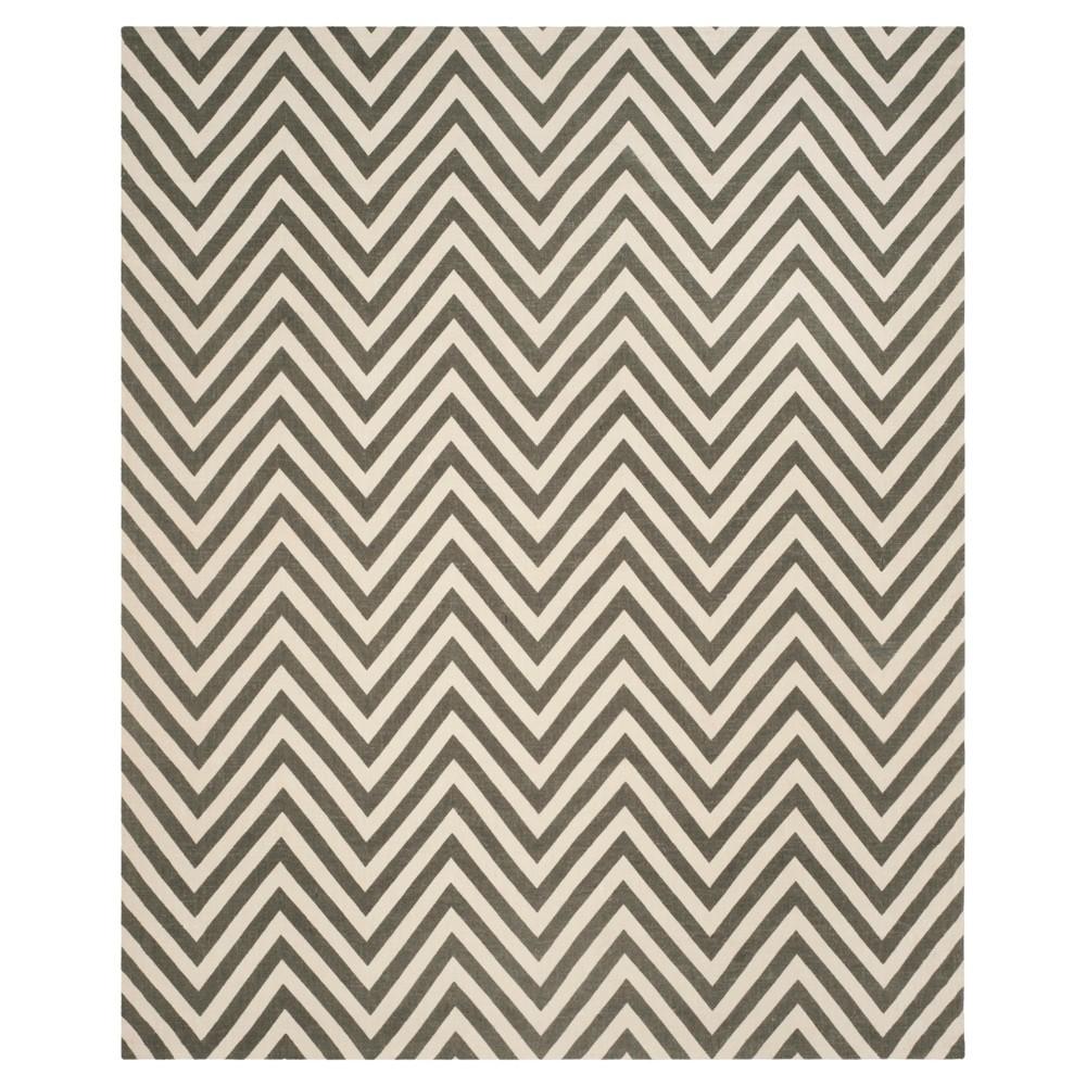 Gray/Ivory Abstract Loomed Area Rug - (8'x10') - Safavieh