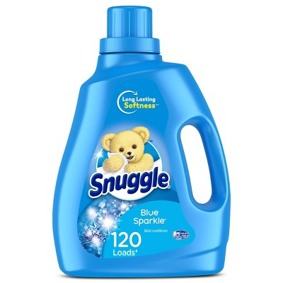Snuggle Liquid Fabric Softener - Blue Sparkle - 96oz