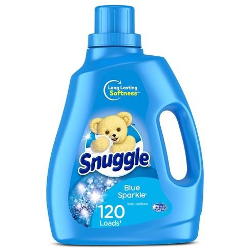 Snuggle Liquid Fabric Softener - Blue Sparkle - 96oz - image 1 of 4