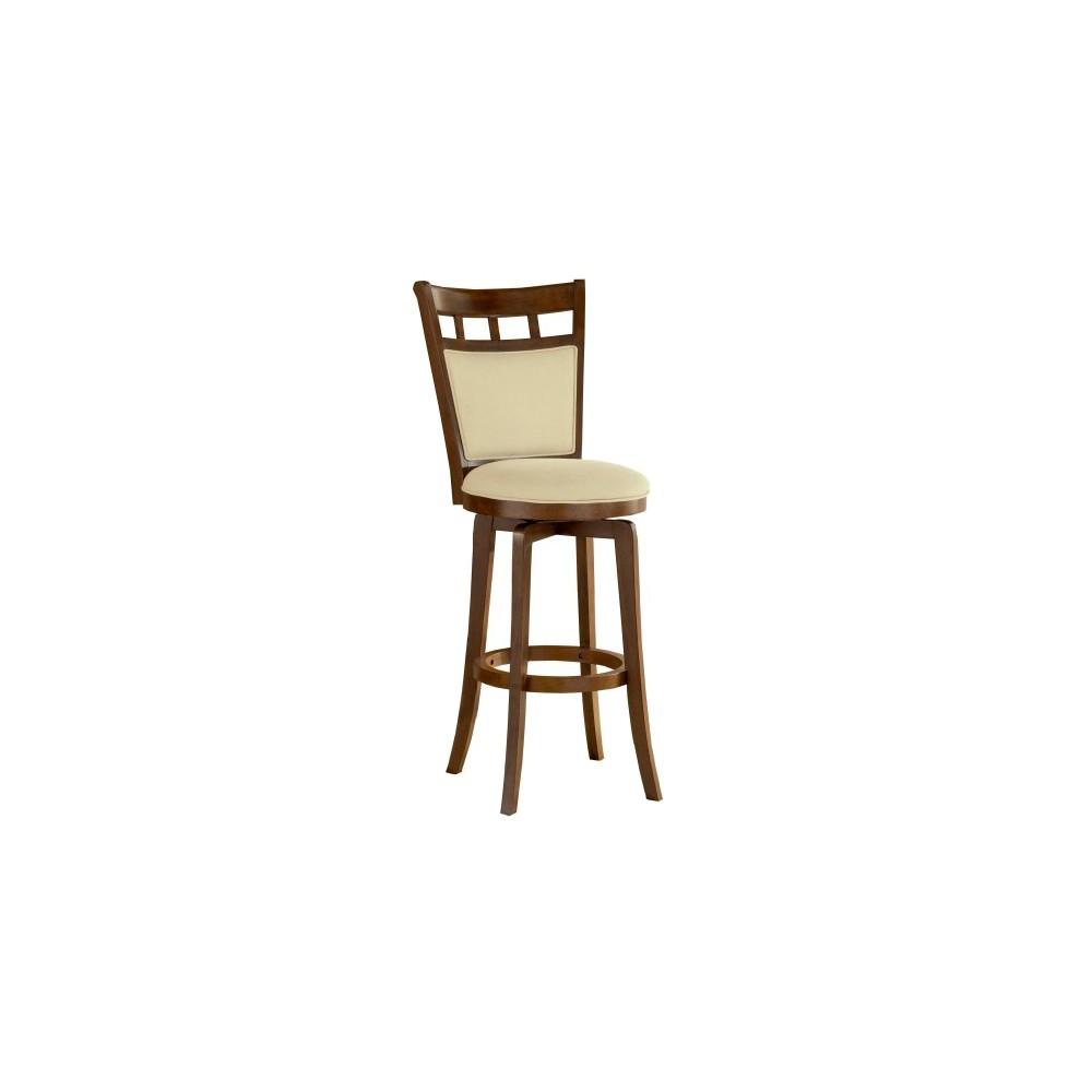 Jefferson 24 Counter Stool Hardwood/Brown Cherry - Hillsdale Furniture