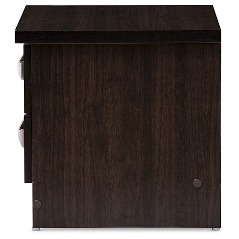 4a604bc81c9e Colburn Modern And Contemporary 2 - Drawer Wood Storage Nightstand ...