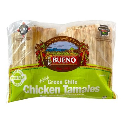 Bueno Frozen Chicken Tamales - 18oz