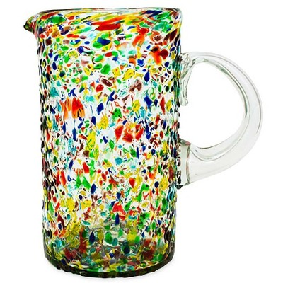 VivaTerra Confetti Recycled Pitcher - 64 oz.