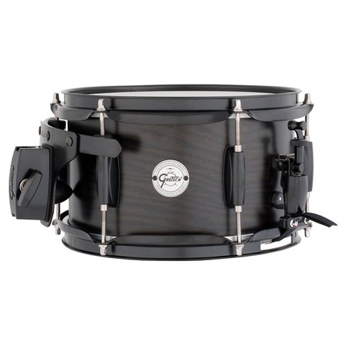 Gretsch Drums Silver Series Ash Side Snare Drum with Black Hardware 10 X 6 Satin Ebony - image 1 of 1