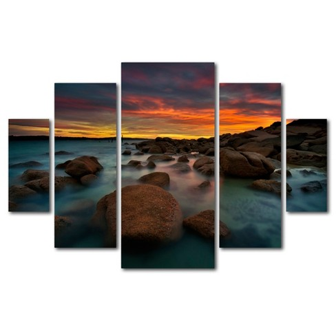 'Granite Quarry' by Lincoln Harrison Ready to Hang Multi Panel Art Set - image 1 of 3
