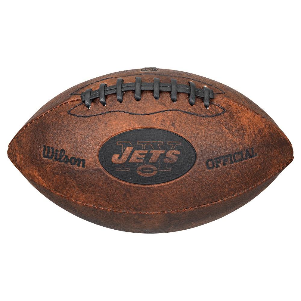 New York Jets Wilson 9 Inch Throwback Football
