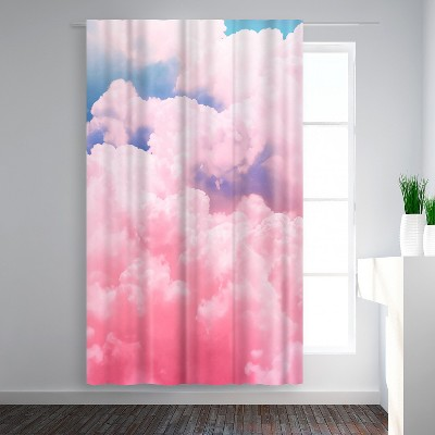 Americanflat Candy Sky by Emanuela Carratoni Blackout Rod Pocket Single Curtain Panel 50x84