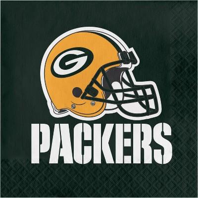 48ct Green Bay Packers Football Napkins