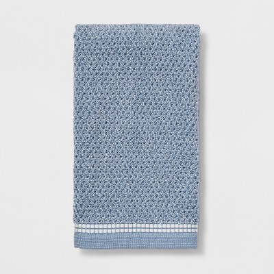 Solid Hand Towels Blue - Threshold™