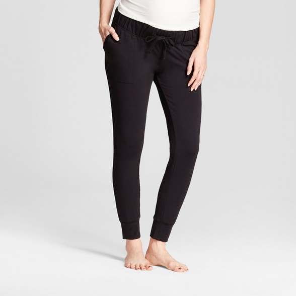 fine craftsmanship latest trends hot-selling authentic Maternity Jogger Pants - Isabel Maternity™ by Ingrid & Isabel® Black S