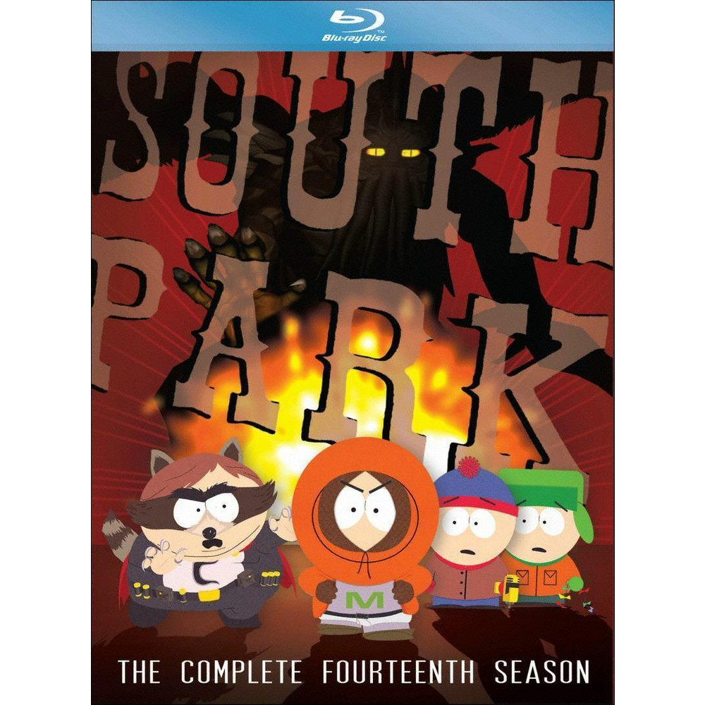 South Park The Complete Fourteenth Season Blu Ray