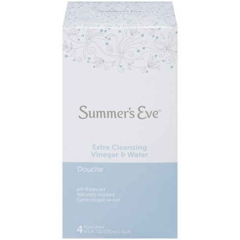 Summer's Eve Extra Cleansing Vinegar and Water Douche - 4ct - image 1 of 4