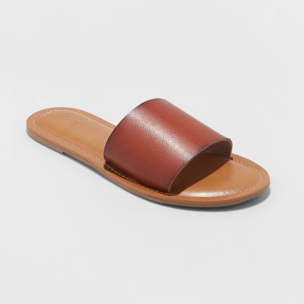 Women 39 s Kerrigan Slide Sandals Universal Thread 8482