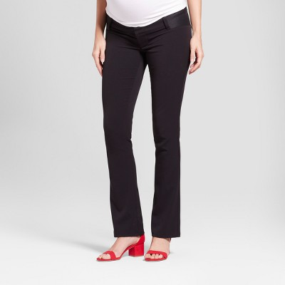 Maternity Inset Panel Bootcut Trousers - Isabel Maternity by Ingrid & Isabel™