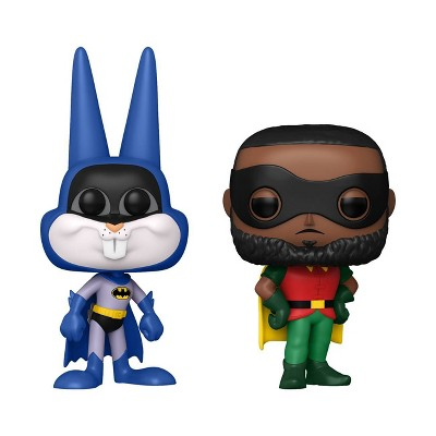 Funko POP! Movies 2pk: Space Jam 2 - Bugs Bunny as Batman & LeBron James as Robin  (Target Exclusive)