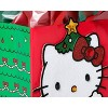 Medium Papyrus Christmas Hello Kitty Tree Medium Gift Bag and Tissue Paper Red and Green - image 3 of 3