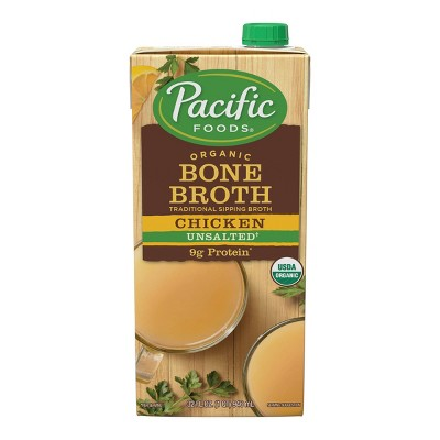 Pacific Foods Organic Bone Broth Chicken - 32oz