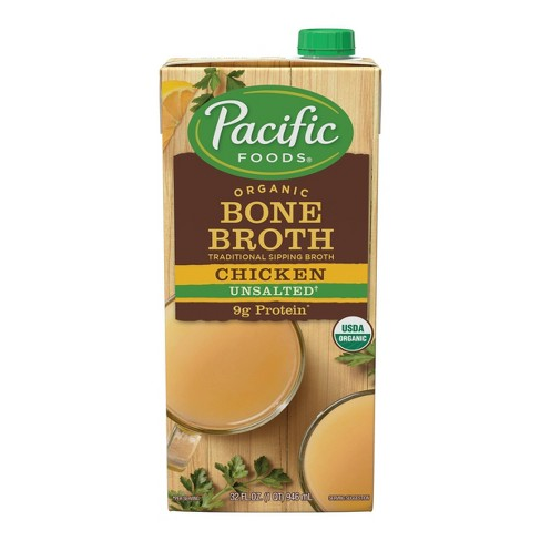 Pacific Foods Organic Bone Broth Chicken - 32oz - image 1 of 4