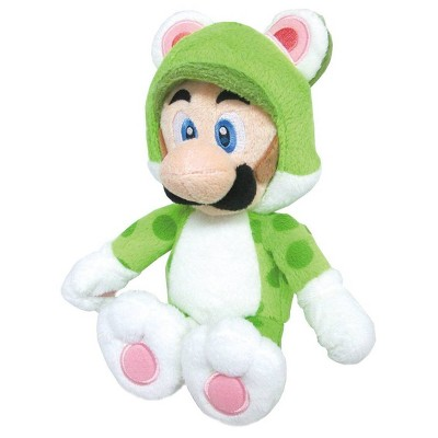 Nintendo Super Mario 3D Plush - Cat Luigi