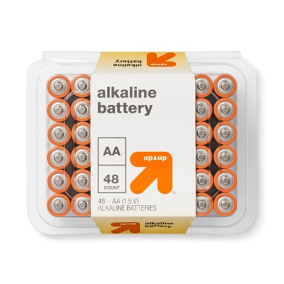 AA Batteries - 48ct - Up&Up™