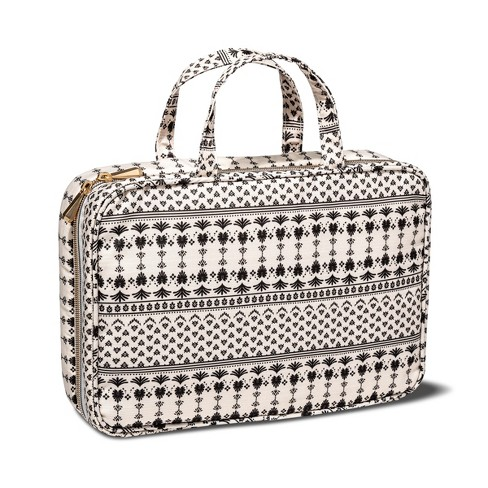 Sonia Kashuk™ Weekender Bag Woodblock Cream - image 1 of 4
