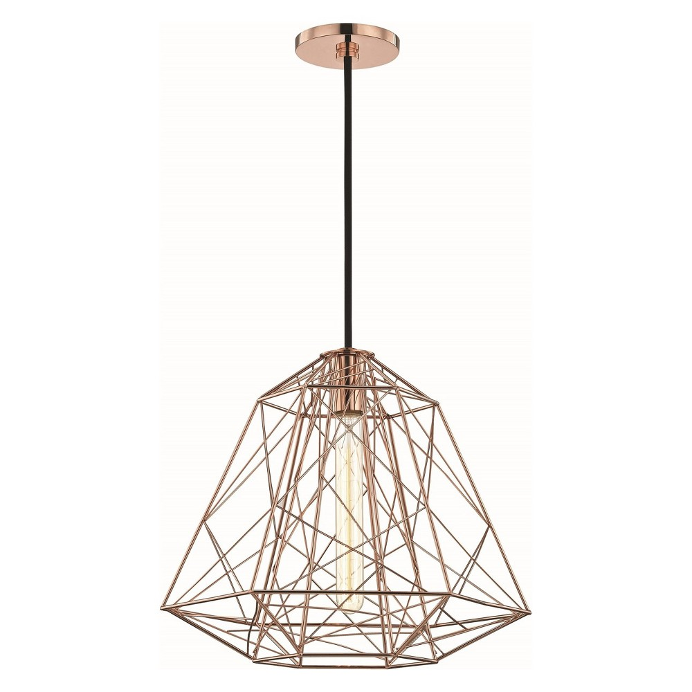Image of 1pc Ani Light Pendant Brushed Nickel - Mitzi by Hudson Valley