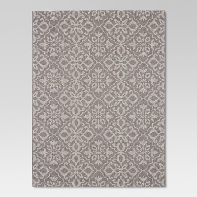 Mosaic Gray Outdoor Rug - 5'x7' - Threshold™