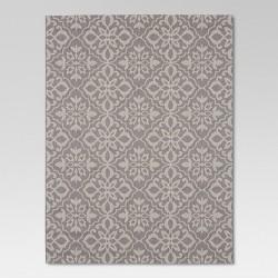Mosaic Gray Outdoor Rug - Threshold™