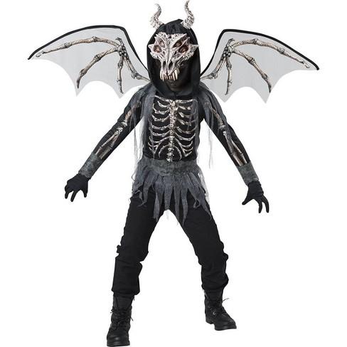 Incharacter Dragon Skeleton Child Costume - image 1 of 1