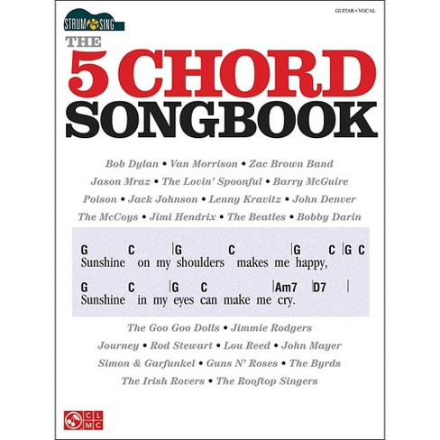 Cherry Lane The 5 Chord Songbook - Strum & Sing Series - image 1 of 1