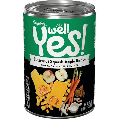 Campbell's® Well Yes!™ Soup Butternut Squash - 16.3oz