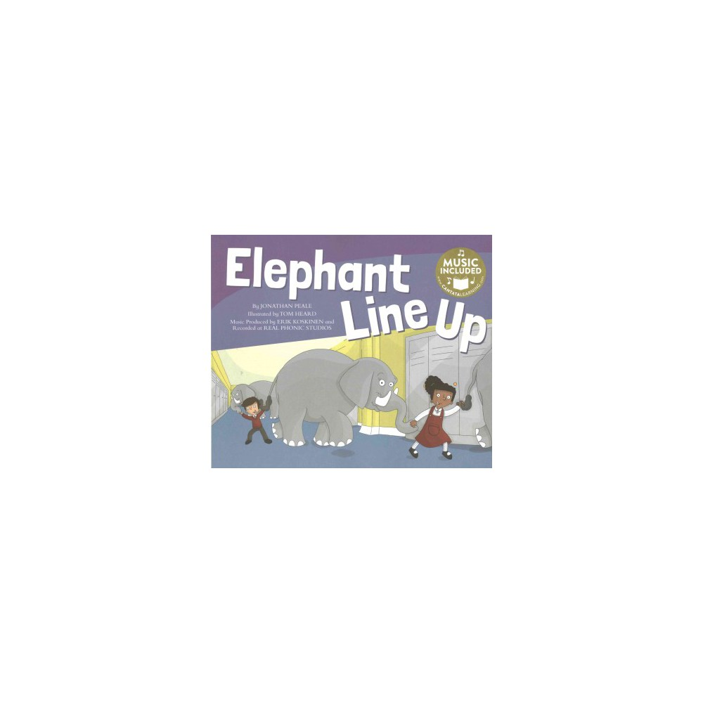 Elephants Line Up (Paperback) (Jonathan Peale)