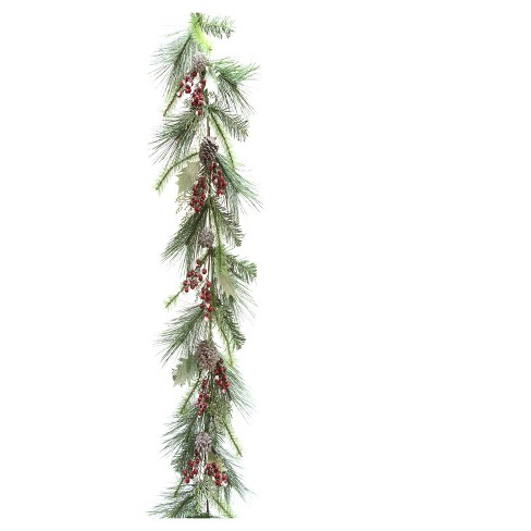 "60"" Pinecone and Berry Artificial Garland - image 1 of 1"
