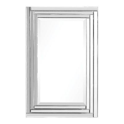 Rectangle Alanna Frameless Vanity Decorative Wall Mirror - Uttermost