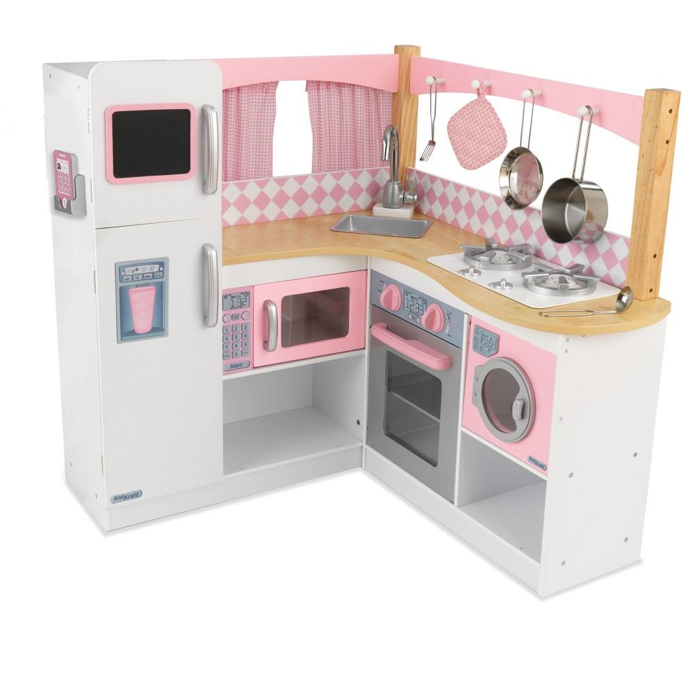 KidKraft Grand Gourmet Corner Kitchen 4pc