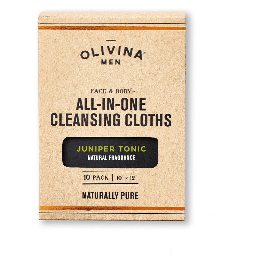 Olivina 10 ct Facial Cleansers