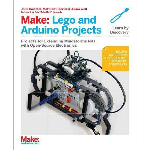 Make: Lego and Arduino Projects - by  Adam Wolf (Paperback) - image 1 of 1