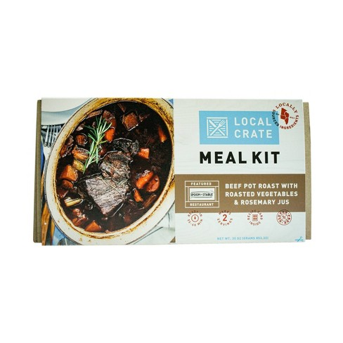 Local Crate Beef Pot Roast with Vegetables and Rosemary Jus Meal Kit - Serves 2 - image 1 of 3