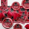 3ct Graduation School Spirit Tablecloth Red - image 2 of 4
