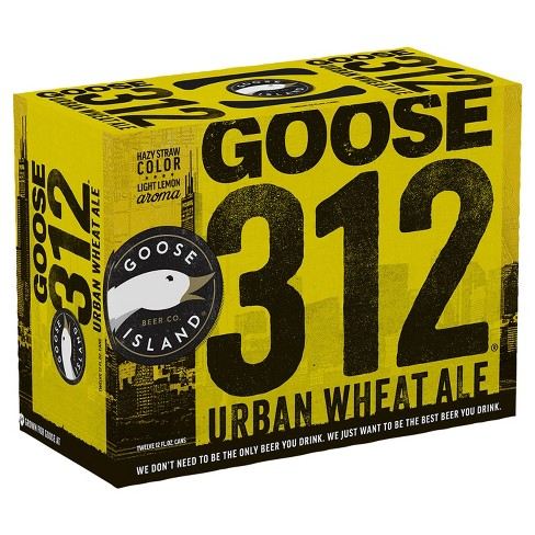 Goose Island 312 Urban Wheat Ale Beer - 12pk/12 fl oz Cans - image 1 of 1