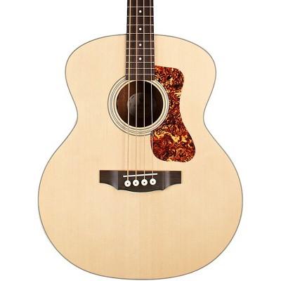 Guild Jumbo B-240E Acoustic-Electric Bass Guitar Natural