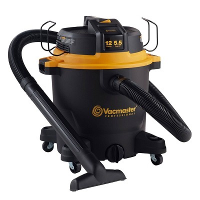 Vacmaster 12gal 5.5 HP Wet/Dry Vacuum Cleaner