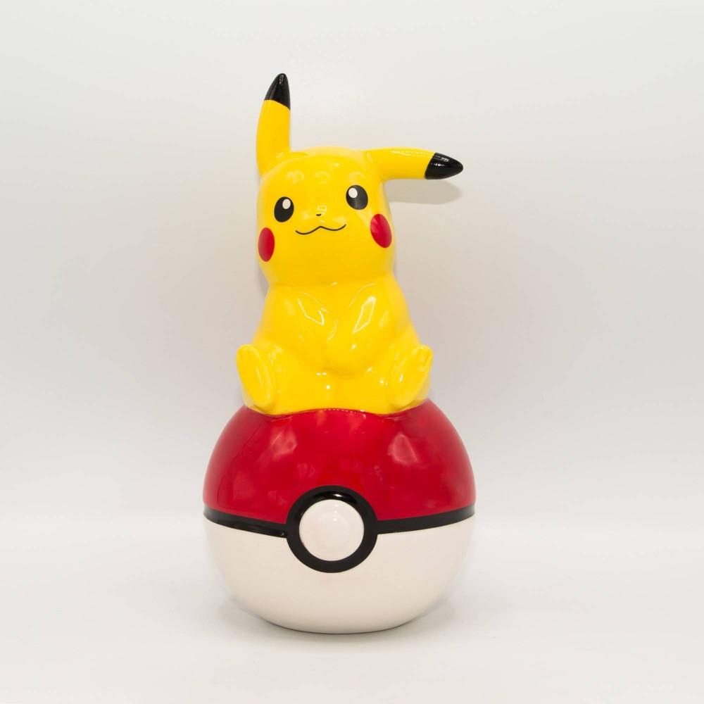 Image of Pokémon Pikachu Coin Bank, Yellow