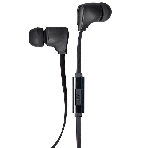 Monoprice Premium 3.5mm Wired Earbuds Headphones With Microphone And 10mm Drivers For Apple And Android Devices - image 1 of 4