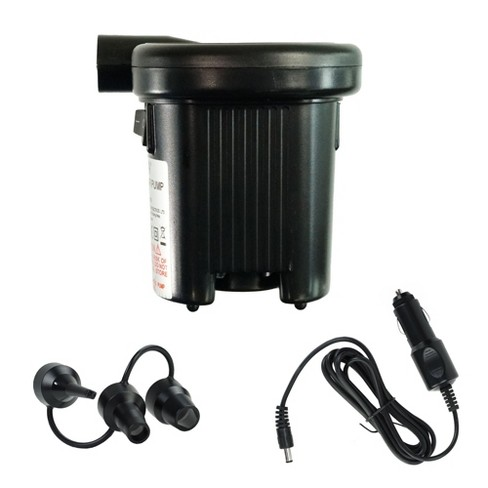 """Pool Central Battery Operated or DC Electric Powered Inflate and Deflate Air Pump 4.5"""" - Black - image 1 of 1"""