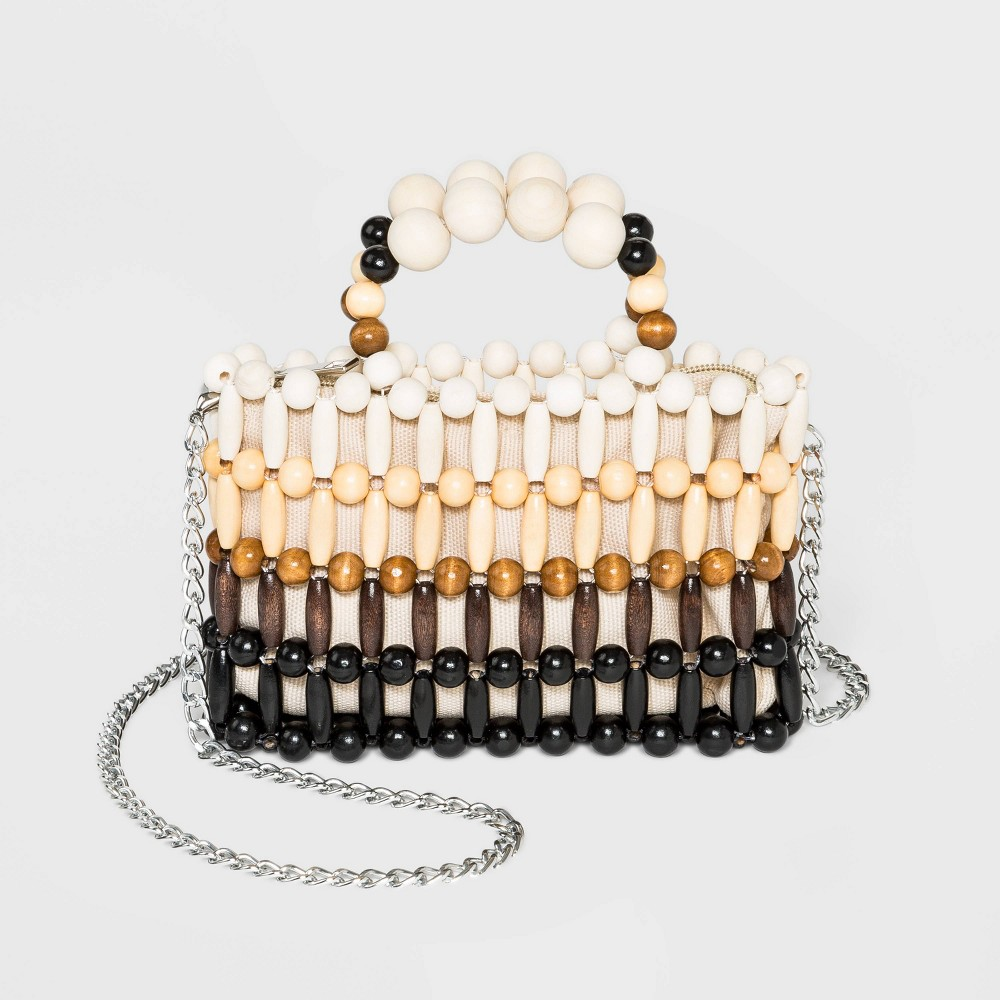 Image of VR NYC Beaded Crossbody Clutch, MultiColored