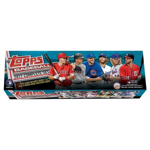 2017 Topps MLB Baseball Trading Card Complete Set - image 1 of 2