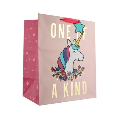 XLarge Happy Birthday Gift Bag Purple/Pink - Spritz™