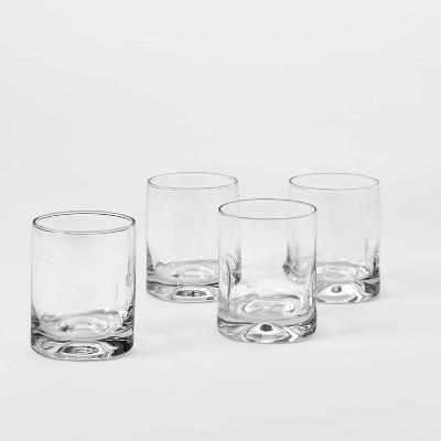 12oz 4pk Glass Telford Short Tumblers - Threshold™
