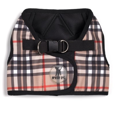 The Worthy Dog Plaid Sidekick Harness Vest